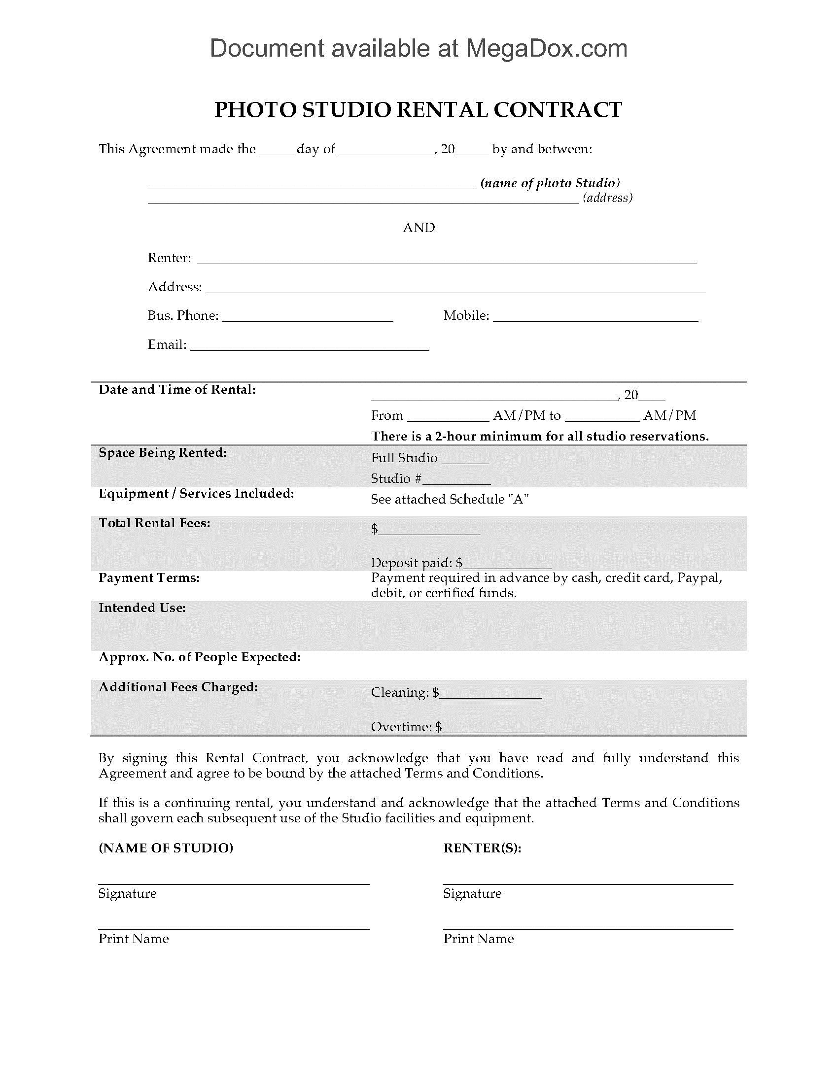 007 Stirring Beat Lease Contract Template Highest Quality  Unlimited PdfFull