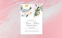 007 Stirring Bridal Shower Card Template Design  Invitation Free Download Bingo