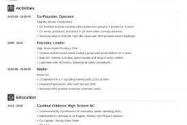 007 Stirring College Admission Resume Template Sample  Microsoft Word Application Download