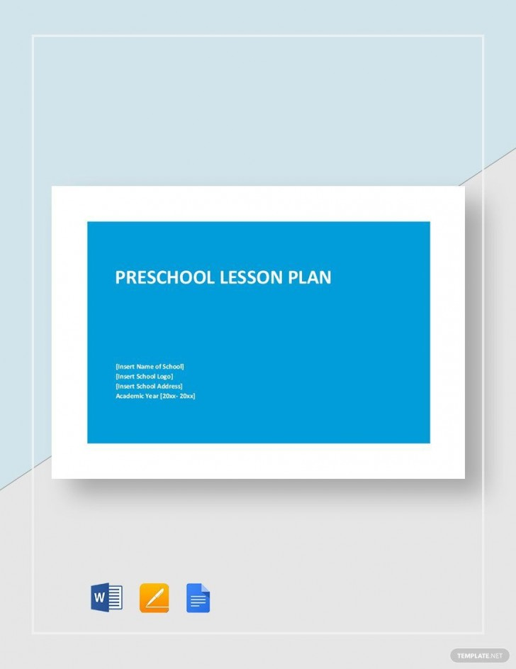 007 Stirring Daycare Lesson Plan Template Word Idea 728