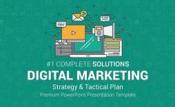 007 Stirring Digital Marketing Plan Template Ppt High Definition  Presentation Free Slideshare
