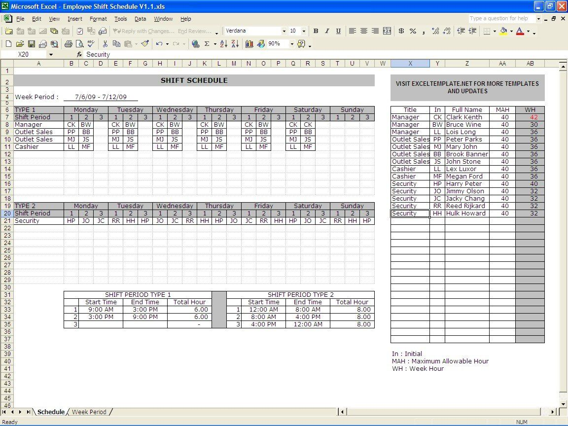 007 Stirring Excel 24 Hour Shift Schedule Template High Definition Full