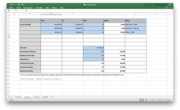 007 Stirring Excel Pto Tracker Template High Resolution  Employee Vacation Spreadsheet 2019 Free