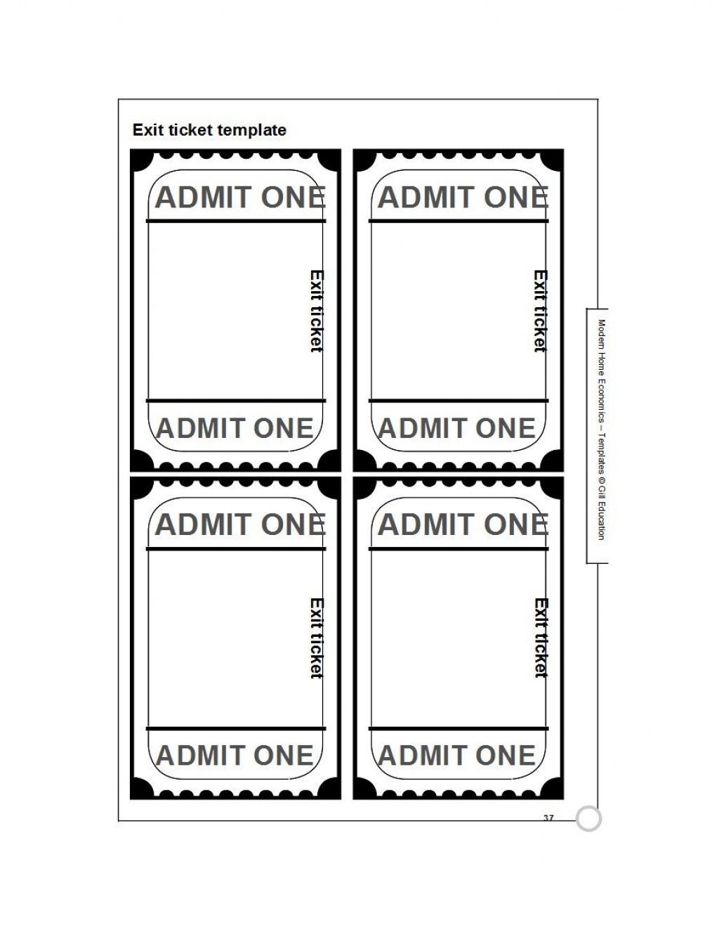 007 Stirring Free Printable Ticket Template High Resolution  Raffle Printing Airline For Gift ConcertLarge