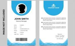 007 Stirring Id Card Template Free Inspiration  Download Pdf Design