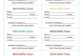 007 Stirring Microsoft Word Raffle Ticket Template Highest Quality  2007 2010 8 Per Page