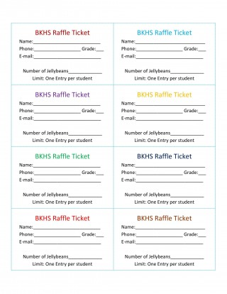 007 Stirring Microsoft Word Raffle Ticket Template Highest Quality  2007 2010 8 Per Page320