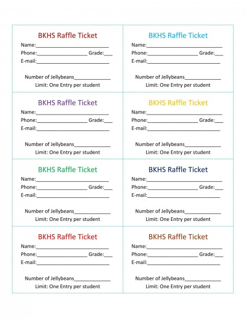 007 Stirring Microsoft Word Raffle Ticket Template Highest Quality  2007 2010 8 Per Page480