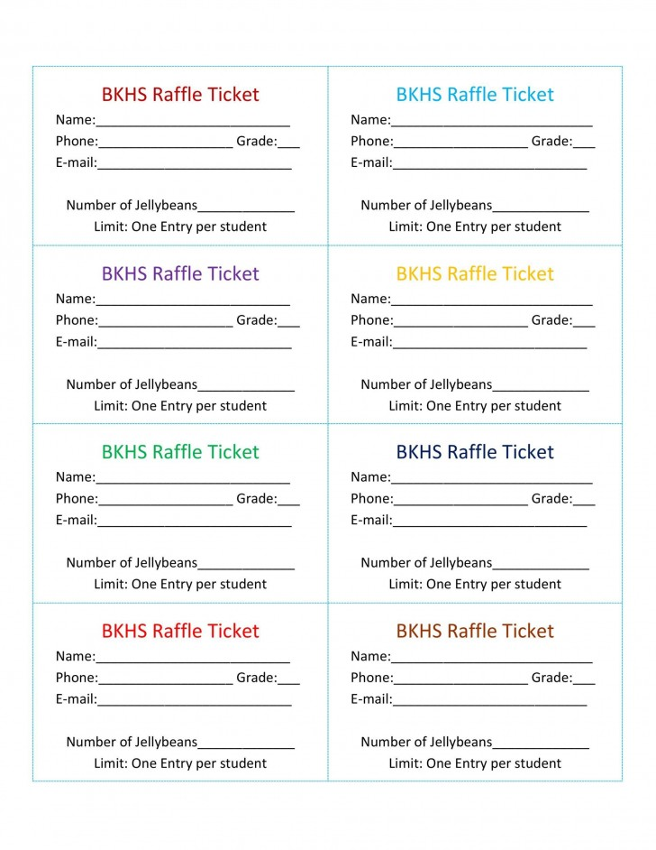 007 Stirring Microsoft Word Raffle Ticket Template Highest Quality  2007 2010 8 Per Page728