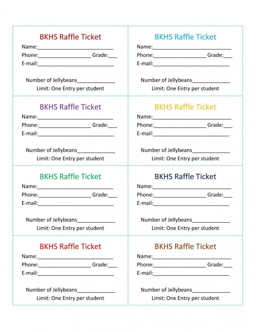 007 Stirring Microsoft Word Raffle Ticket Template Highest Quality  2007 2010 8 Per Page868
