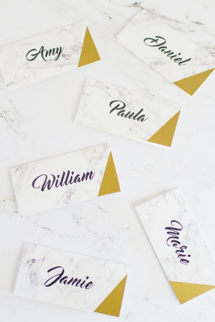 007 Stirring Name Place Card Template High Def  Free Word Publisher Wedding728