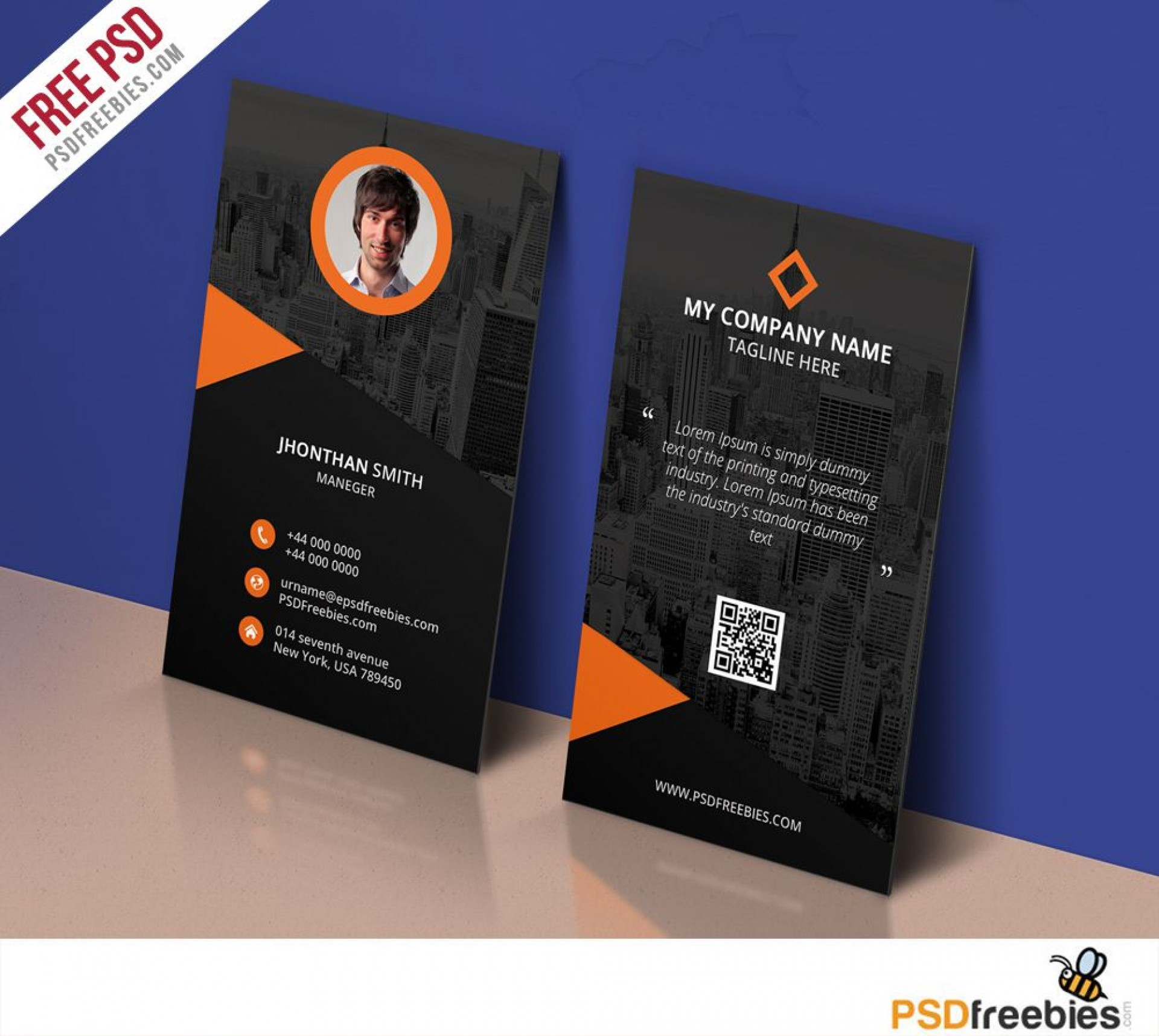 007 Stirring Personal Busines Card Template Picture  Trainer Design Psd Fitnes1920