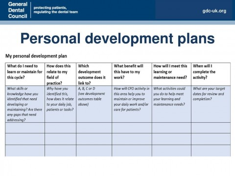 007 Stirring Personal Development Plan Template Gdc Example  Free480