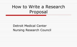 007 Stirring Research Project Proposal Example Ppt Idea