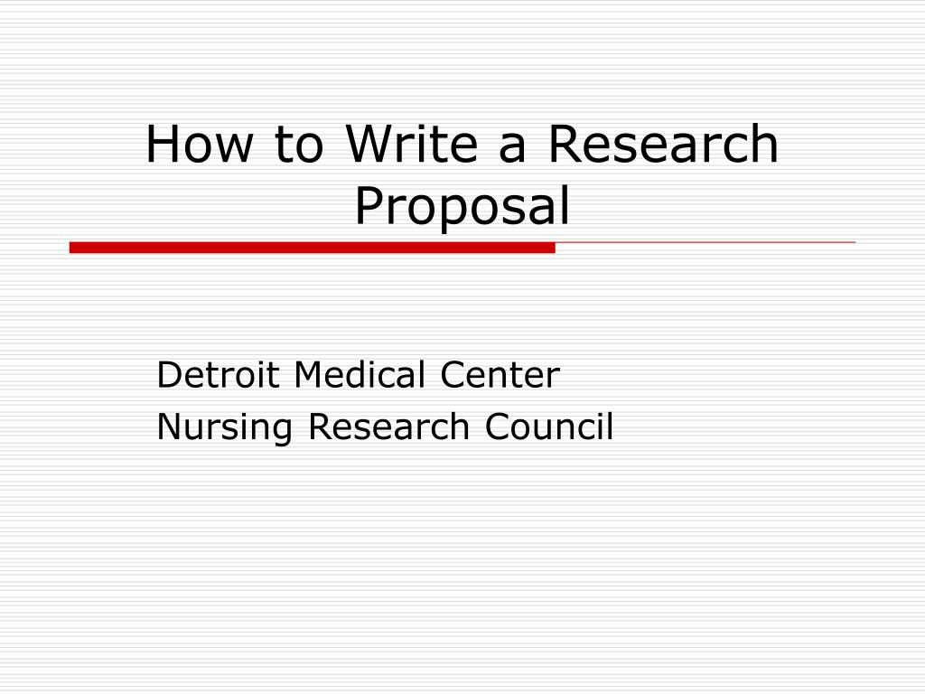 007 Stirring Research Project Proposal Example Ppt Idea Full