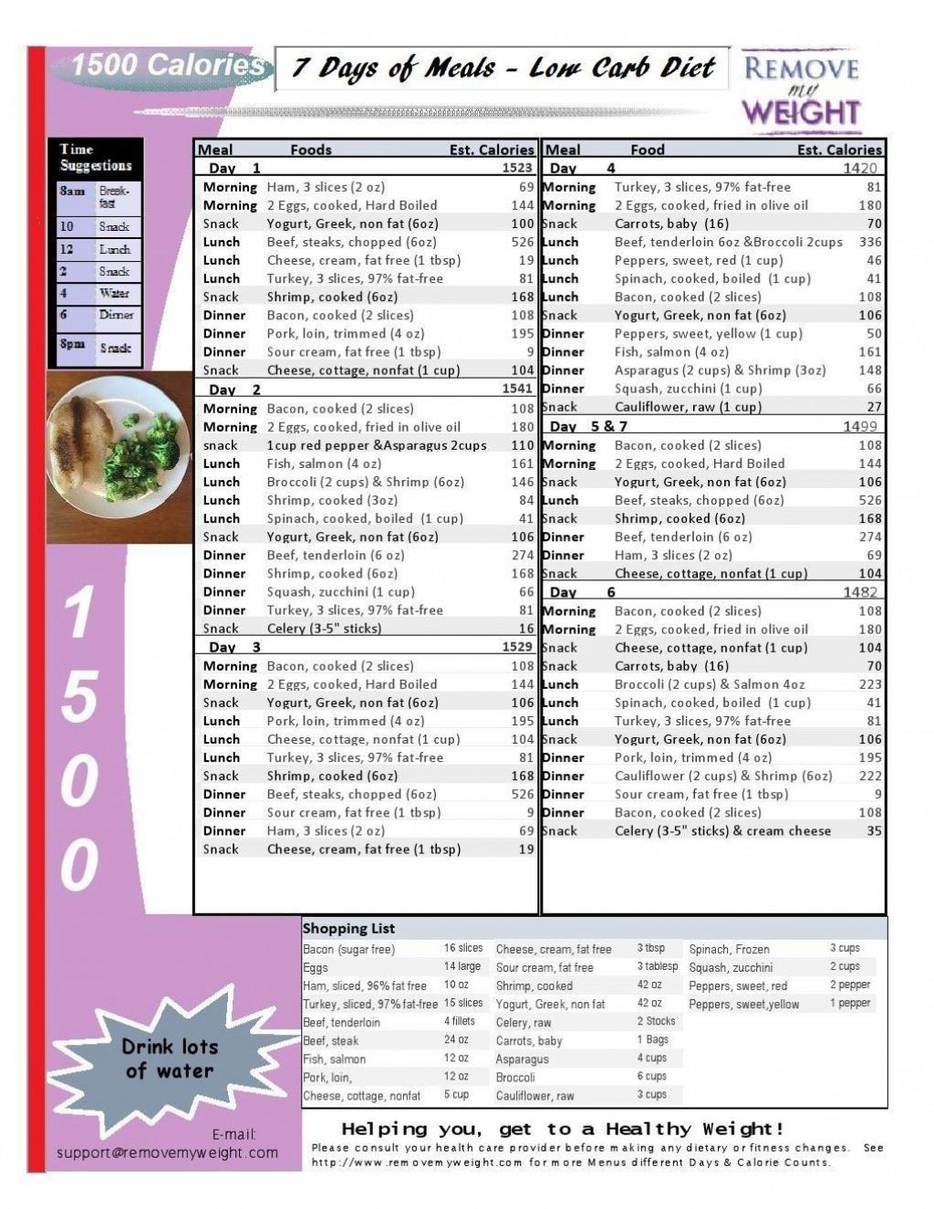 007 Stirring Sample 1500 Calorie Meal Plan Pdf Design Large