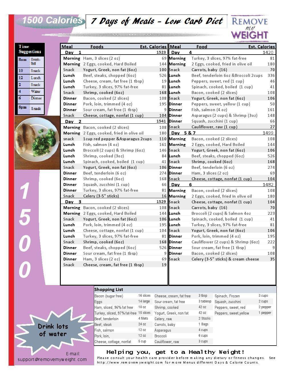 007 Stirring Sample 1500 Calorie Meal Plan Pdf Design Full