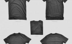 007 Stirring T Shirt Template Psd Concept  Design Mockup Free White Collar