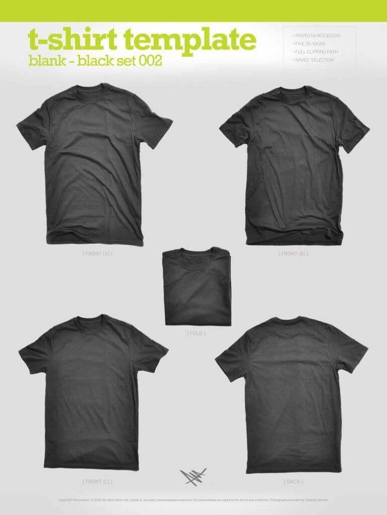 007 Stirring T Shirt Template Psd Concept  Design Mockup Free White CollarFull