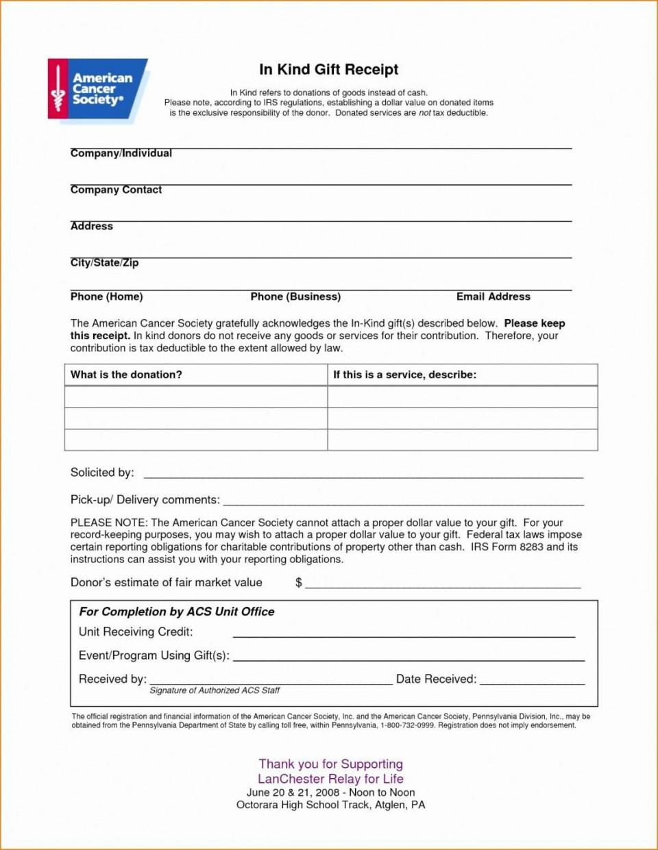 007 Stirring Tax Deductible Donation Receipt Template Australia Idea 960