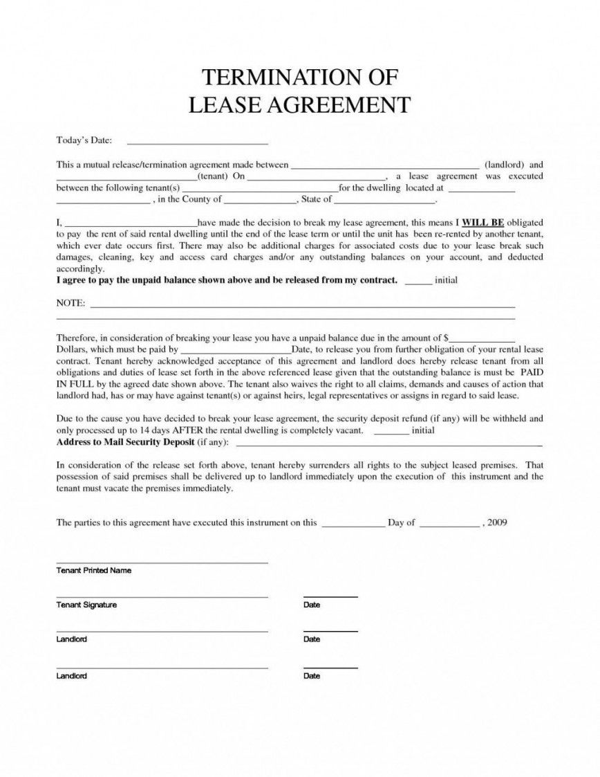 007 Stirring Template Letter To Terminate Rental Agreement High Def  End Tenancy For Landlord Ending868