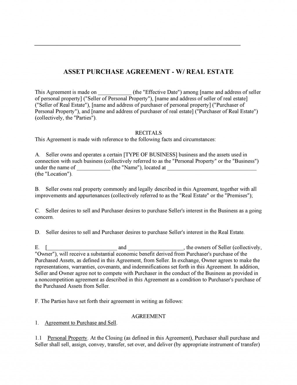 007 Striking Buy Sell Agreement Template For Home Design  PurchaseLarge
