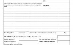 007 Striking Construction Work Order Template Image  Word Additional Form Free