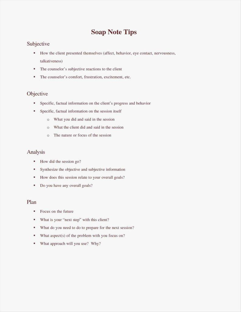 007 Striking Counseling Progres Note Template Image  Physical Therapy Pdf FreeFull