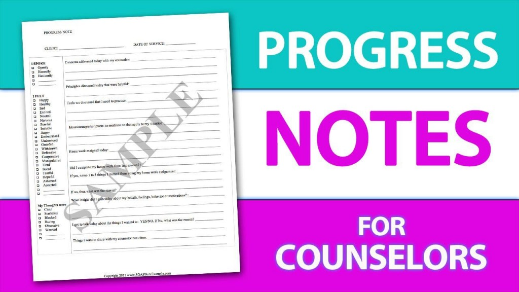 007 Striking Counseling Progres Note Template Highest Clarity  Occupational Therapy Example Counselor PsychologyLarge