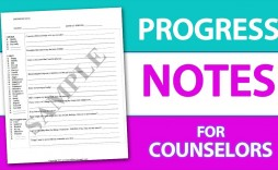 007 Striking Counseling Progres Note Template Highest Clarity  Occupational Therapy Example Counselor Psychology