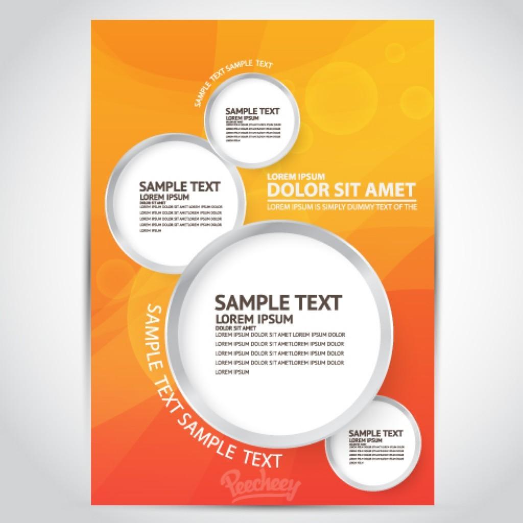 007 Striking Free Download Flyer Template High Def  Templates Blank Leaflet Word PsdLarge