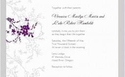 007 Striking Invitation Template For Word Idea  Birthday Wedding Free Indian