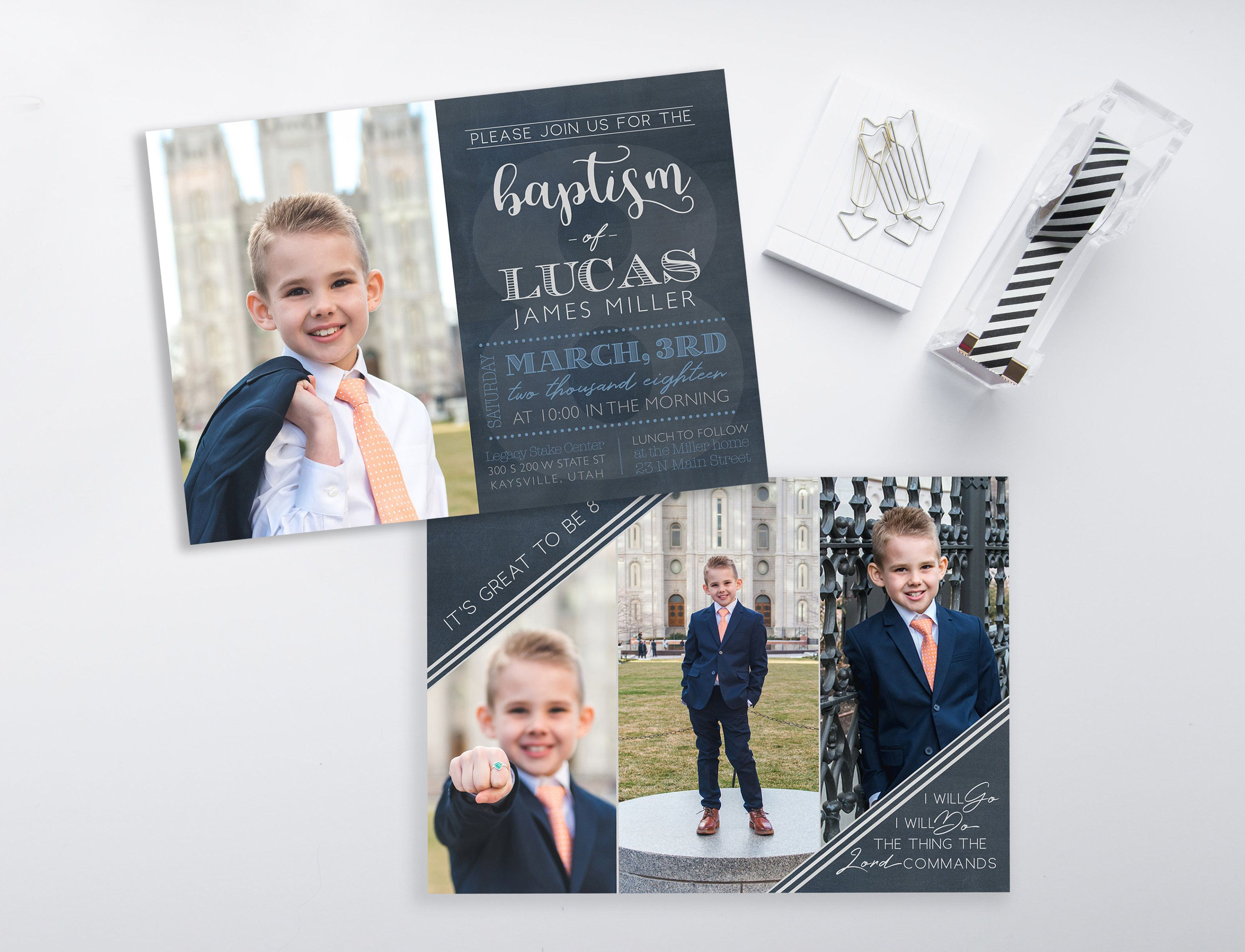 007 Striking Ld Baptism Invitation Template Inspiration Full