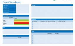 007 Striking Project Management Statu Report Template High Definition  Format Ppt Word