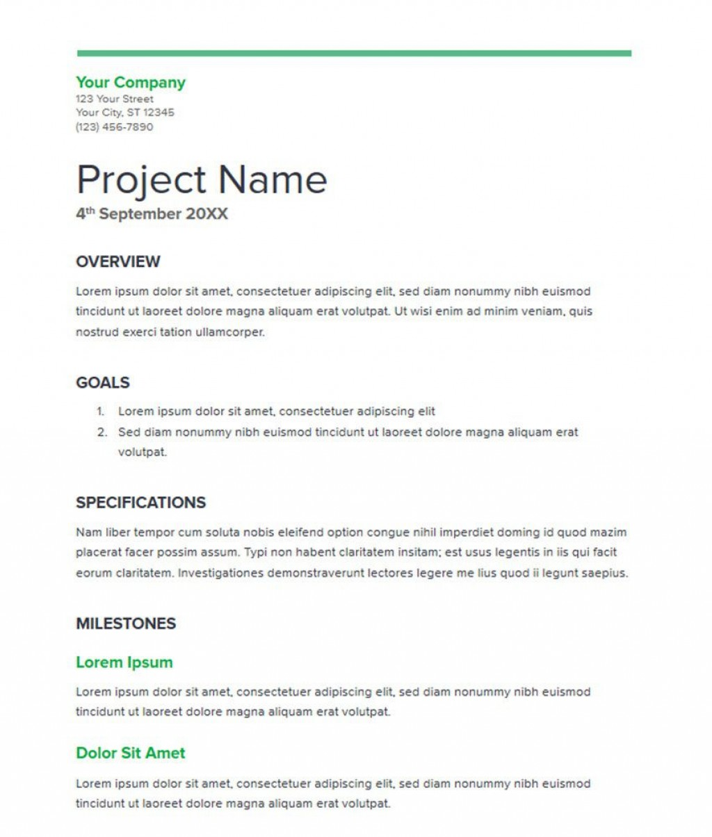 007 Striking Simple Busines Proposal Template Highest Clarity  Example Word Doc Basic Plan FreeLarge