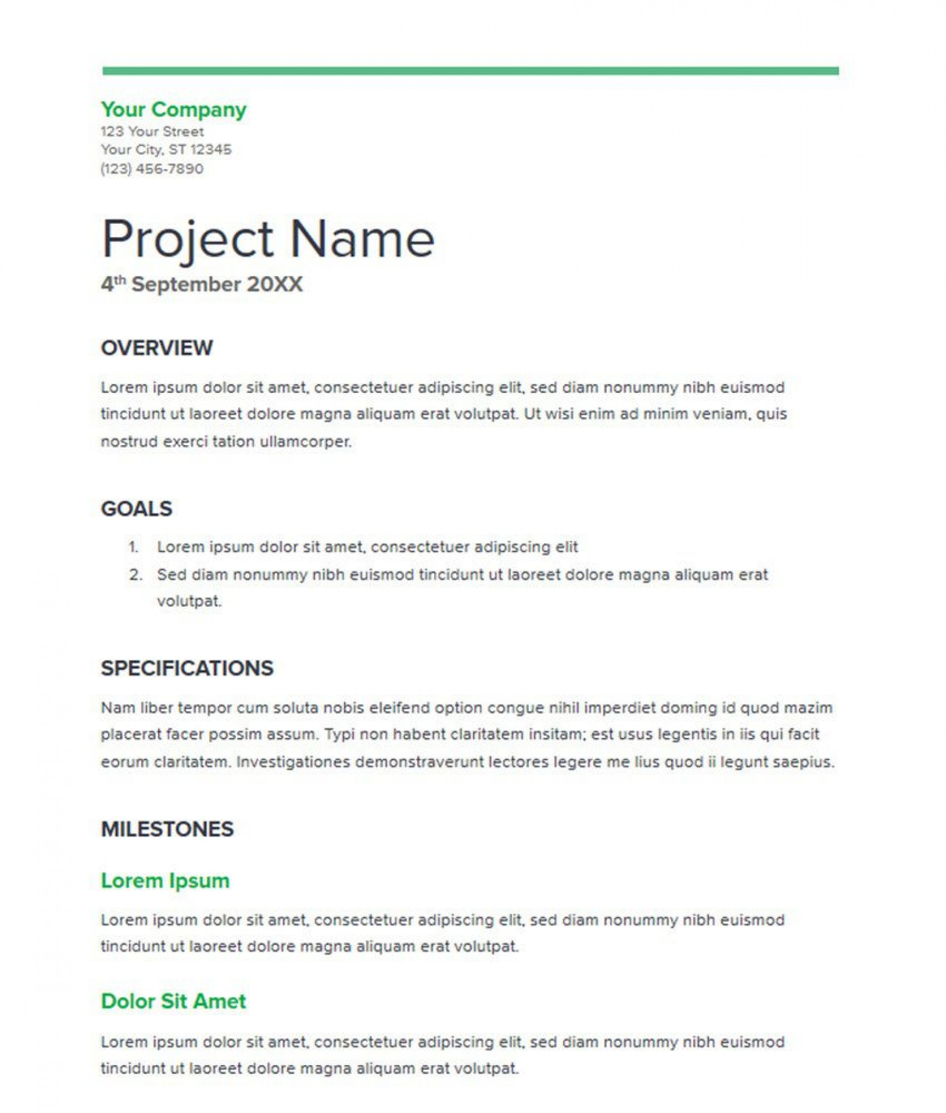 007 Striking Simple Busines Proposal Template Highest Clarity  Example Word Doc Basic Plan Free1920
