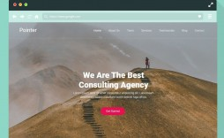 007 Striking Single Page Web Template Concept  Templates One Website Free Download Html5 Bootstrap