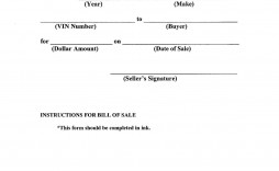 007 Striking Template For Bill Of Sale High Resolution  Example Trailer Free Mobile Home Used Car