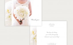 007 Striking Thank You Card Template Wedding Example  Free Printable Publisher