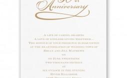 007 Stunning 50th Anniversary Invitation Wording Sample Highest Clarity  Samples Wedding Card