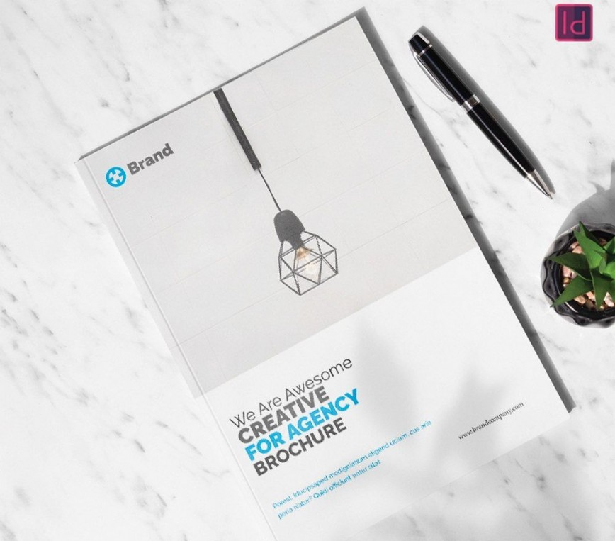 007 Stunning Adobe Indesign Brochure Template Free Download Concept