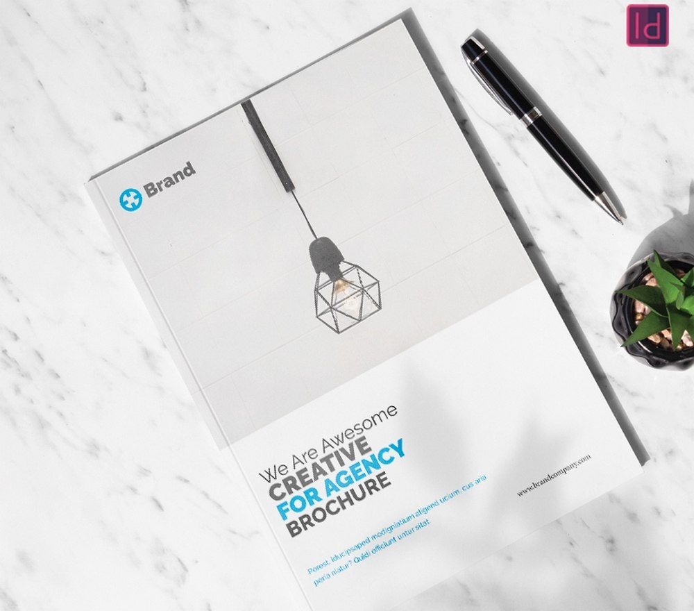 007 Stunning Adobe Indesign Brochure Template Free Download Concept Full