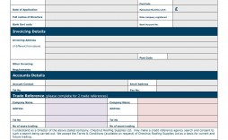007 Stunning Busines Credit Application Template South Africa Sample  Form Word Free
