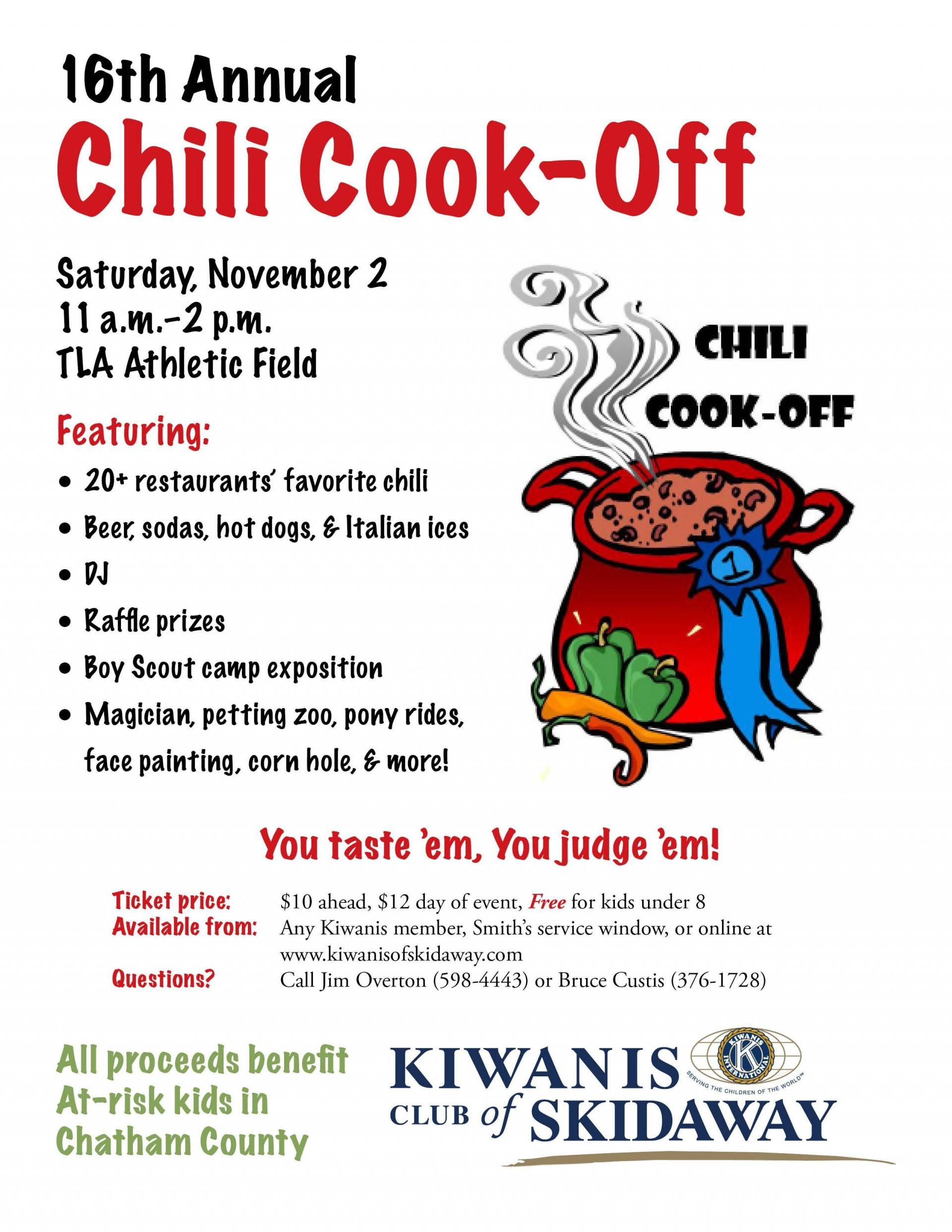 007 Stunning Chili Cook Off Flyer Template Example  Halloween Office Powerpoint1920