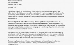 007 Stunning Cover Letter Sample Template For Fresh Graduate In Marketing Example