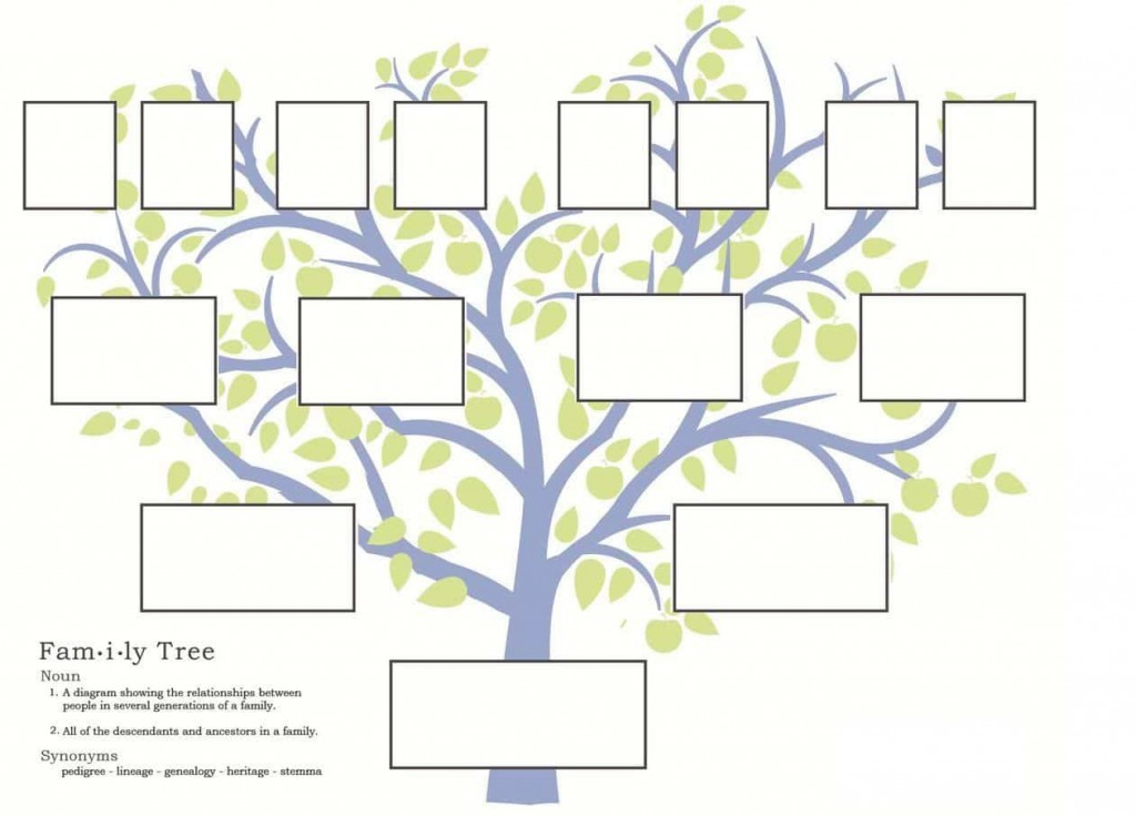 007 Stunning Family Tree Template Online Inspiration  Free Maker ExcelLarge