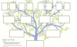 007 Stunning Family Tree Template Online Inspiration  Free Maker Excel