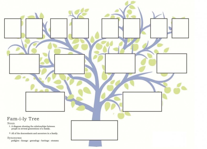 007 Stunning Family Tree Template Online Inspiration  Maker Excel Free Download