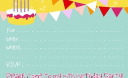 007 Stunning Free Birthday Party Invitation Template Example  Templates Printable 16th Australia Uk