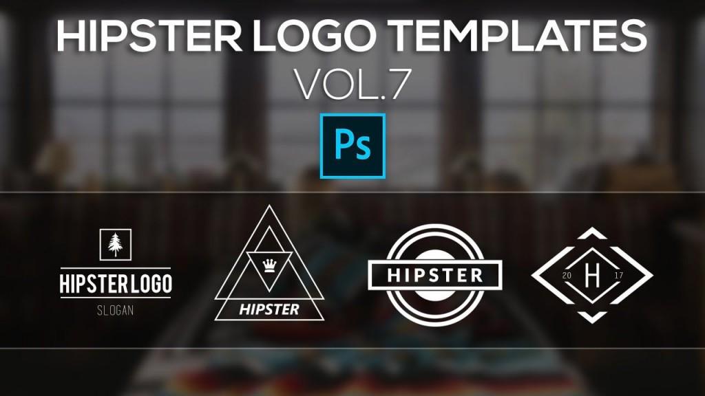007 Stunning Free Logo Template Psd Highest Quality  Photoshop MockupLarge